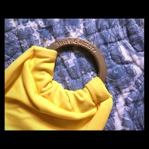 Juicy Couture canary yellow belt